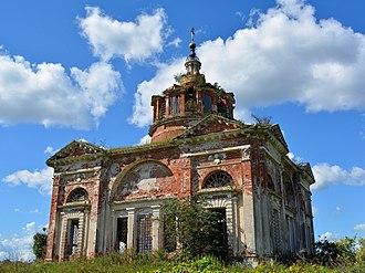 Kashinsky District - Church of the Nativity of the Theotokos, Saltykovo.