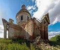 Церковь Михаила Архангела в Порошино. Разрушения фасада.jpg