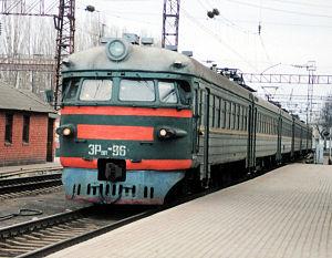 Железная дорога отменила четыре электрички