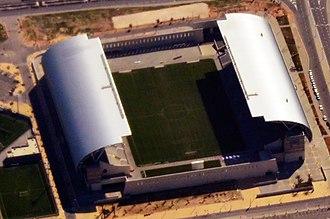 2017–18 Israeli Premier League - Image: אצטדיון המושבה בפתח תקוה חתוך