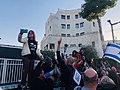 הפגנת מחאה מול הווילון השחור בבכניסה לבית ראש הממשלה בבלפור שבת אחר הצהריים 26 בדצמבר 2020 (8).jpg