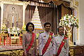 นายกรัฐมนตรีและภริยากล่าวถวายพระพรชัยมงคลเนื่องในวันฉั - Flickr - Abhisit Vejjajiva (1).jpg