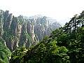 安徽 黄山 - 一半怪石,一半奇松 Mount. Huangshan - One half stone, one half pine -) - panoramio.jpg