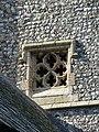 -2018-10-09 Square tracery window, Parish church of Saint Giles, Bradfield, Norfolk.JPG