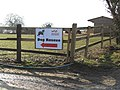 -2019-02-02 Direction sign, Hillside Animal Sanctuary, Frettenham.JPG