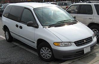 Chrysler Voyager - 2000 Chrysler Voyager (US)