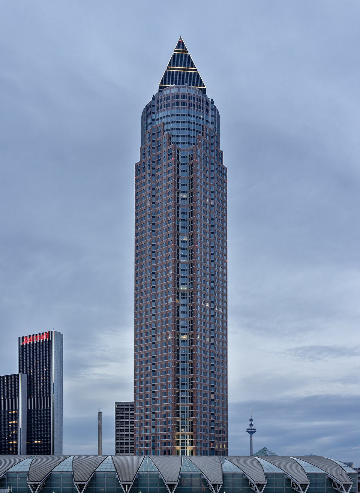 messeturm frankfurt am main wikipedia. Black Bedroom Furniture Sets. Home Design Ideas