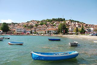 Ohrid Place in Southwestern, North Macedonia