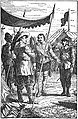 03 Colonel Munro presents Malcolm to the King-Illust by Johan Schonberg for Lion of the North by G A Henty.jpg