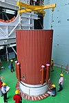 05 placement of interstage over the first stage of pslv-c42.jpg