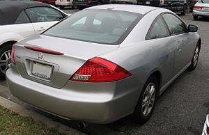Honda Accord (North America seventh generation) - Honda Accord coupe
