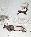 065 Pintures de la cova dels Moros, exposició al Museu de Gavà.JPG