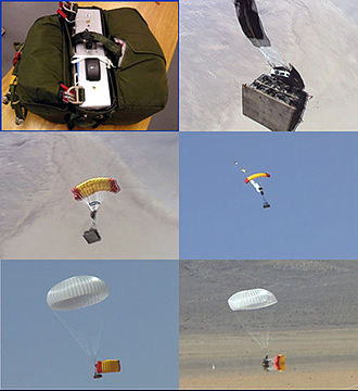 Joint Precision Airdrop System - Early JPADS equipment testing