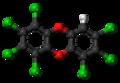 1,2,3,4,6,7,8-Heptachlorodibenzodioxin molecule ball.png