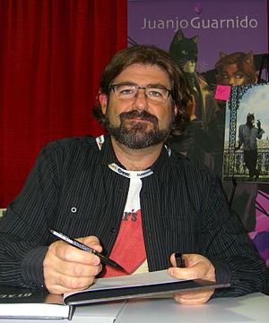 Juanjo Guarnido - Guarndio at the 2012 New York Comic Con