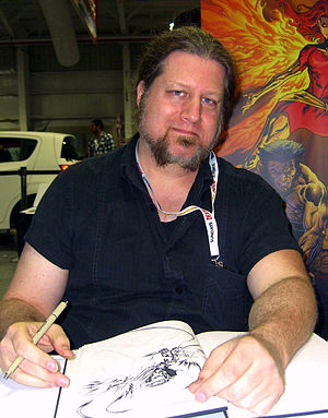 Tom Raney - Raney at the 2012 New York Comic Con.