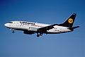 101as - Lufthansa Boeing 737-530; D-ABJF@ZRH;01.08.2000 (5163726219).jpg