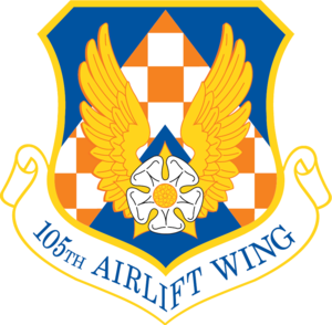 Stewart Air National Guard Base - Image: 105th Airlift Wing