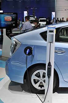 The Charging Port In Production Version Is Located On Right Rear Fender Prius Plug