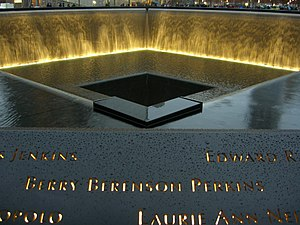 Berry Berenson - Berenson's name is located on Panel N-76 of the National September 11 Memorial & Museum's North Pool.