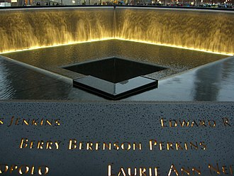 Berry Berenson - Berenson's name is located on Panel N-76 of the National September 11 Memorial & Museum's North Pool