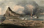 12th Regiment in Gibraltar