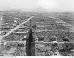 131783 TAKEN FROM THE ROOF OF THE NEWSPAPER BUILDING, WHICH WAS ONE OF TWO BUILDINGS WHICH SURVIVED THE ATOMIC BLAST.JPG
