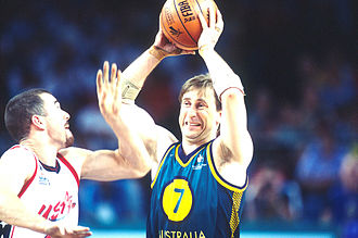 University of Ballarat - Sandy Blythe (1962 – 2005)  in action during competition at the 2000 Summer Paralympics, Sydney