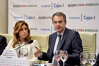 2017 Spanish Socialist Workers' Party leadership election - Former Prime Minister José Luis Rodríguez Zapatero had become one of Susana Díaz's most devoted backers in recent times.