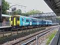 150257 to Aberdare at Pontypridd Railway station (13956643181).jpg