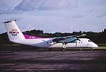 153ab - BWIA Express DHC-8-311 Dash 8Q, 9Y-WIP@TAB,14.10.2001 - Flickr - Aero Icarus.jpg