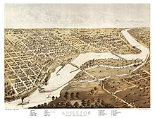 Appleton, Wisconsin - 1867
