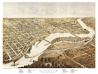 Appleton, Wisconsin - Appleton, Wisconsin - 1867