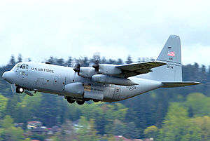 180th Airlift Squadron - 180th Airlift Squadron Lockheed C-130H2 Hercules 90-1794