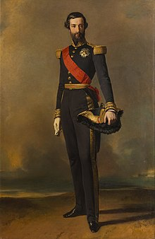 1843 portrait of Prince Francois of Orléans, Prince of Joinville by Winterhalter (Versailles).jpg