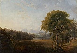 Robert S. Duncanson - Image: 1850s, Duncanson, Robert S., Untitled (Landscape)