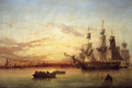 1853 Dublin Bay by Edwin Hayes National Gallery of Ireland.png