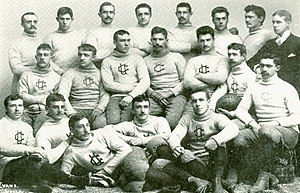 1889 Cornell Big Red football team - Image: 1889 Cornell Varsity Football Team
