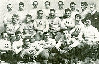1889 Cornell Big Red football team - Image: 1889 Cornell Varsity Football Team