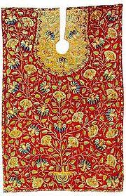 A 18th century Ottoman barber's apron
