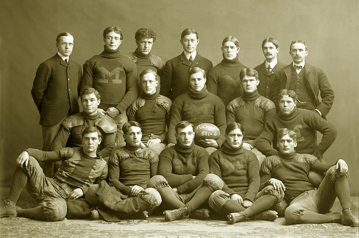 50424b6fc2 1901 Michigan Wolverines football team - Wikipedia