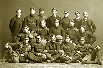 "Willie Heston - Michigan's 1901 ""Point-a-Minute"" team"