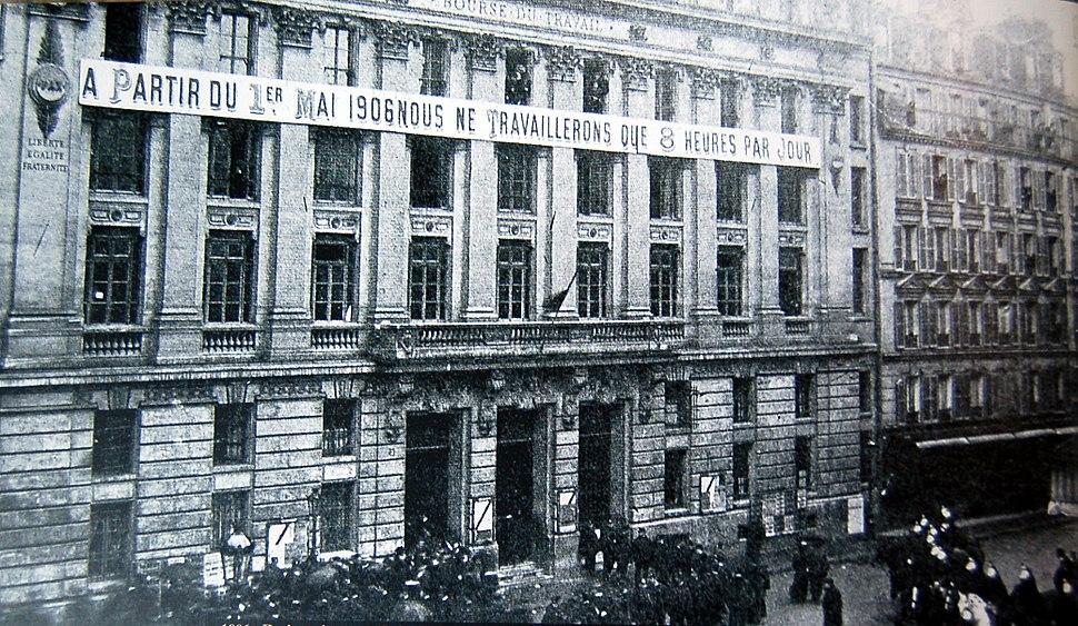 1906 - Grève pour les 8 heures