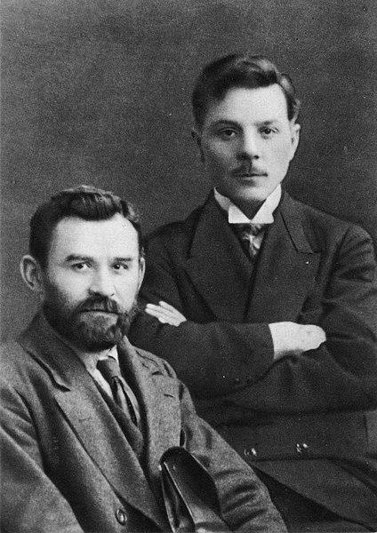 File:1917. К. Е. Ворошилов и Г. И. Петровский.jpg