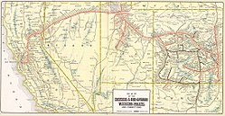 Western Pacific Railroad - Wikipedia on southern pacific rail map, western pacific map map, western pacific products, air pacific route map, western airlines route map 1985, northern pacific route map, pacific railroad map, union pacific route map, western pacific feather river route, norfolk & western route map, north fork southern railroad map, western pacific weather, western pacific airlines, western pacific cars, feather river canyon map, southern pacific route map, missouri pacific route map, chicago railroad map, central pacific route map, california railroad map,