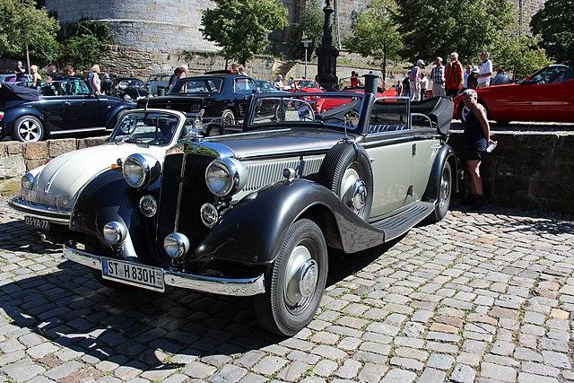 1938 Horch 830 BL Cabriolet Bad Bentheim Burg 01.07.2018
