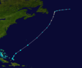 1940 Atlantic tropical storm 9 track.png