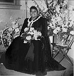 Black-and-white photo of Hattie McDaniel in 1941.