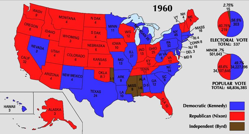1960 Electoral Map.png