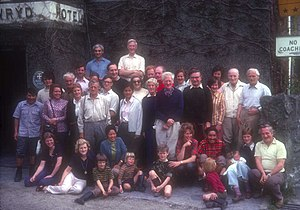 John Angelo Jackson - Everest Reunion 1963 Pen-y-Gwryd
